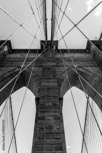 Fotobehang Brooklyn Bridge New York 2017