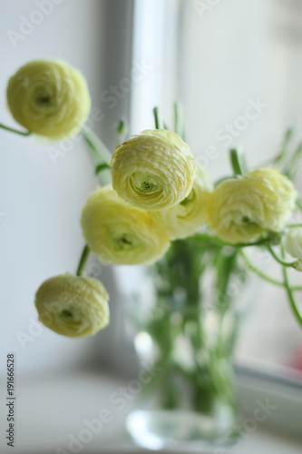 Ranunculus in the vase © sycheva2016