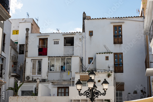 Lovely Typical buildings in Ibiza