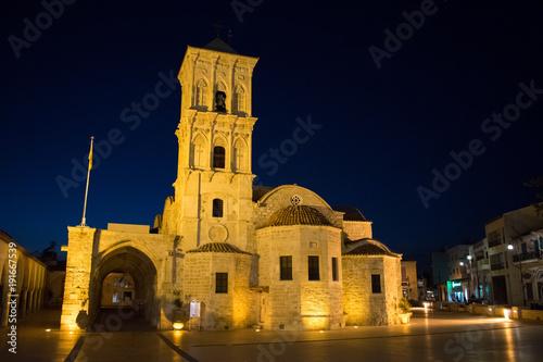 Larnaca, Cyprus, Europe - Jan. 30, 2018, saint lazarus church