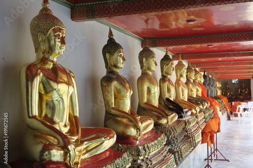 Fotobehang Boeddha Wat pho Bangkok