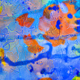 abstract modern oil painting on canvas with texture, illustration