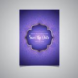 Luxury save the date invitation - 191675598
