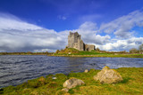 Dunguaire castle in Co. Galway, Ireland - 191677520