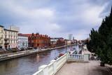 Wyspa Młyńska w mieście Bydgoszcz, Polska 05.02.2018 - 191677702