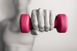 Woman fitness workout.