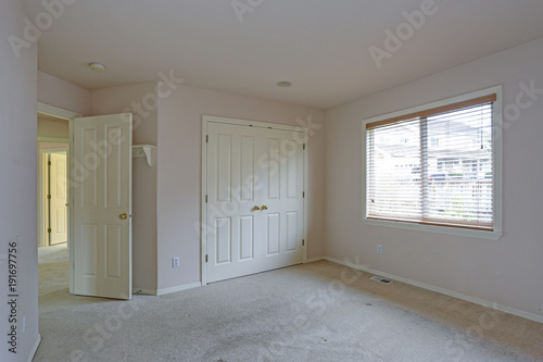 Empty Bedroom With Cream Paint Color Walls Buy Photos Ap Images