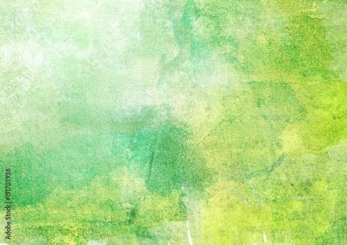 Plakat 背景 水彩 緑
