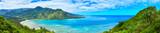 ハワイ クラウチング・ライオン岩ハイキングからの風景  - 191705911