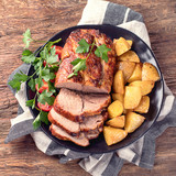 Roast pork - 191716376