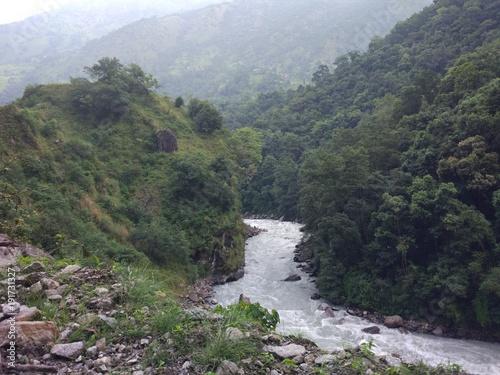 Papiers peints Kaki Nepal, Annapurna circuit. Nature & Landscape of an incredible Country