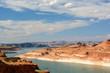 Powell Lake in Arizona, USA