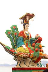 Queen of the Sea Statue, Tin Hau Temple, Repulse Bay, Hong Kong