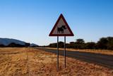 Endlose Weiten im fernen Namibia in Süd Afrika - 191753991