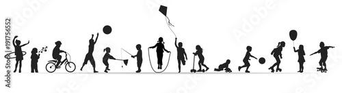 Frise-Jeux d'enfants - 191756552