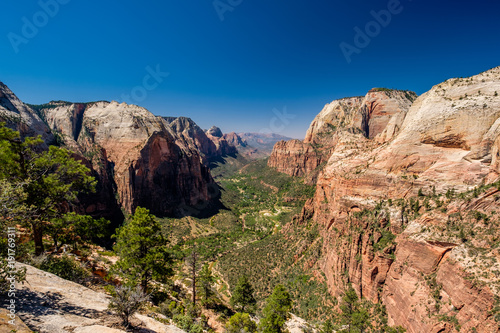 Poster Landscape in Zion National Park