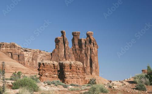 Fotobehang Zalm Arches National Park, Utah, USA