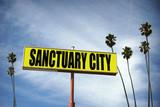sanctuary city sign - 191774375