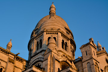 Sacre Cour in Early Morning