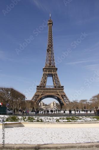 Foto op Plexiglas Eiffeltoren Paris