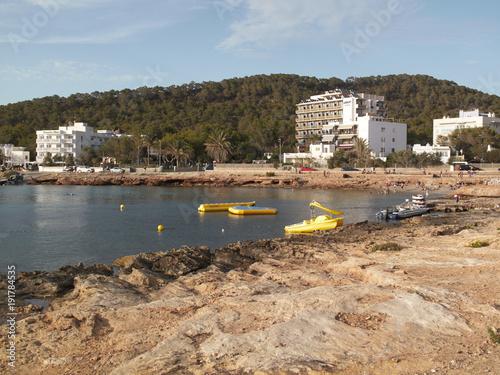 Ibiza, sunset in Calo des moro