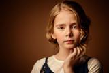 cute little girl - 191787923