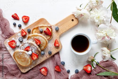 Sticker Breakfast with fruits