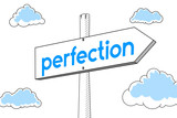 Perfection - signpost - 191794383