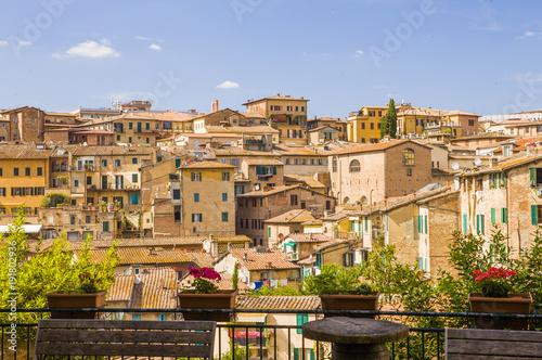 Foto Murales Siena city, Italy, Europe