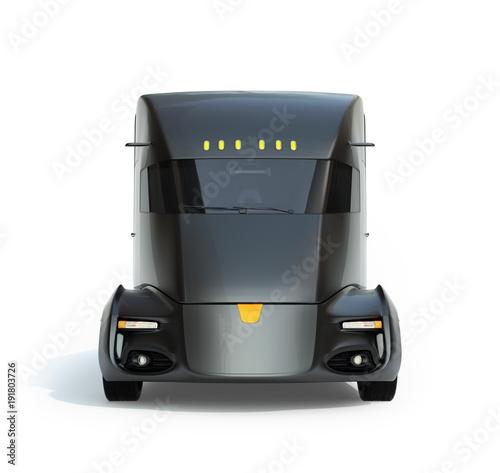 vista-frontal-del-semi-camion-electrico-autonomo-aislado-sobre-fondo-blanco-imagen-de-representacion-3d