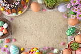 Easter sweets and decorations - 191822910