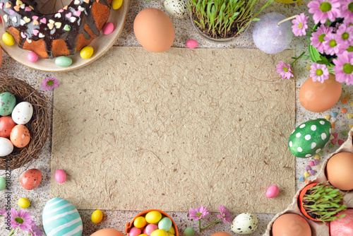 Easter sweets and decorations