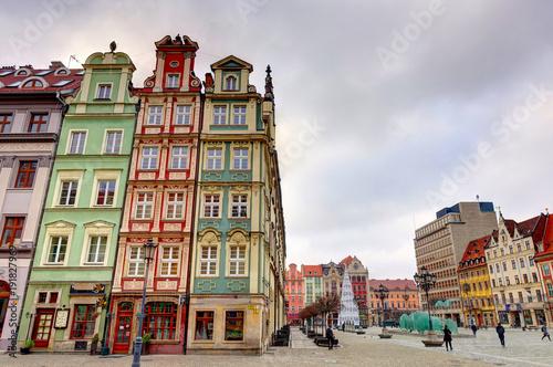 In de dag Barcelona Wroclaw, Poland