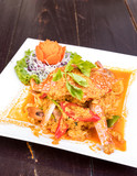 Fried curry crab - 191829942