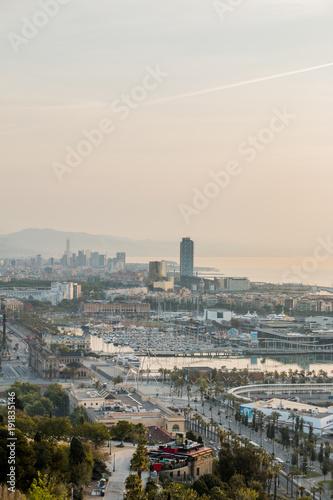 Foto Murales Barcelona views cityscape