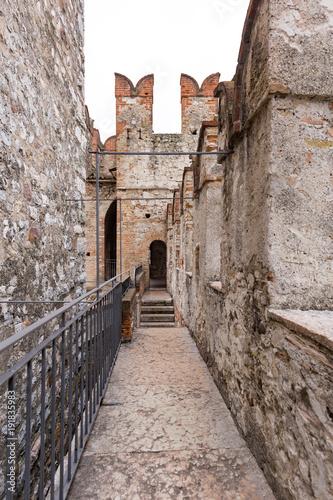 Fototapeta Scaliger fortress sirmione del garda
