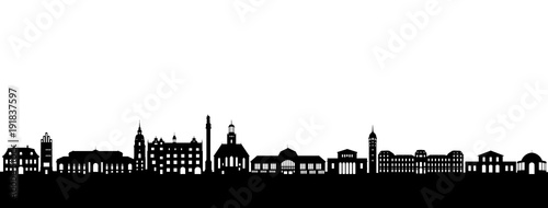 Darmstadt Skyline - 191837597