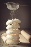 Meringue Nests With Sugar - 191847159