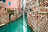 Scenic canal in Venice, Italy. - 191850335