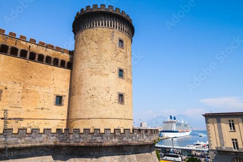 Deurstickers Napels Castel Nouvo, Naples, Italy. Old fortress