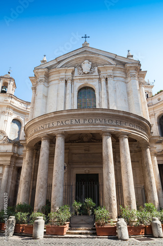 Papiers peints Rome Santa Maria della Pace is a church in Rome