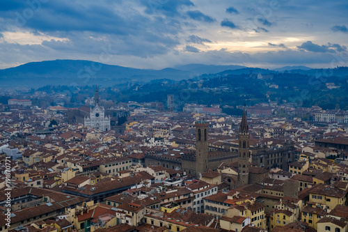 Papiers peints Florence Florence skyline in the morning