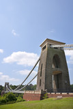 Historic landmark of The Clifton Suspension Bridge in the Clifton area of the City of Bristol, UK - 191872745