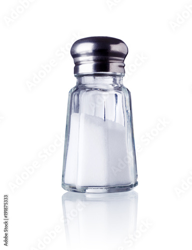 canvas print picture salt shaker isolated on white