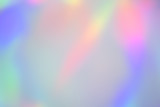 Fototapety Blurry abstract pastel holographic foil background
