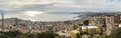 Aluminium Napels Naples, Panoramic view. Italy