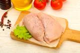 Raw chicken breast - 191899521