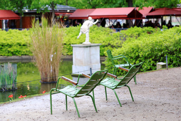 in a Park in Paris