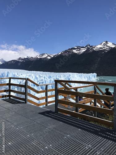 Plexiglas Pier patagonia
