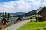 Popular ski resort Bukovel in the summer